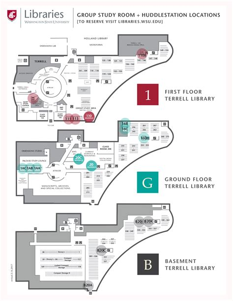 room map terrell libraries wsu libraries