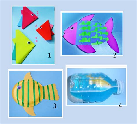 childrens craft projects learning ideas grades k 8 fish craft activities for