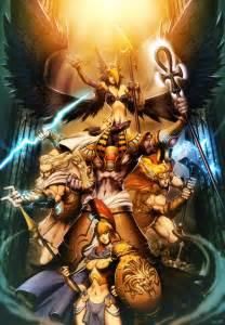of gods gods myth pantheons by genzoman on deviantart