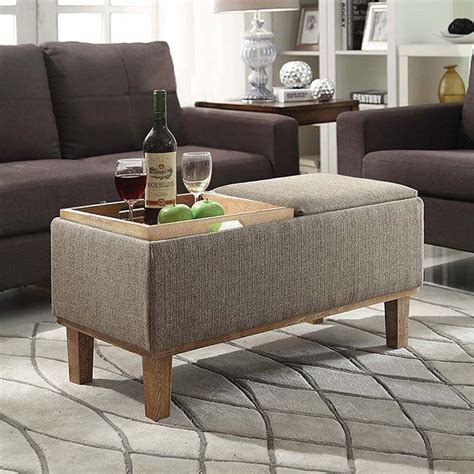 ottoman coffee table storage 25 best ideas about storage ottoman coffee table on