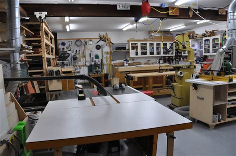 woodworking shop tour curt s standalone shop the wood whisperer
