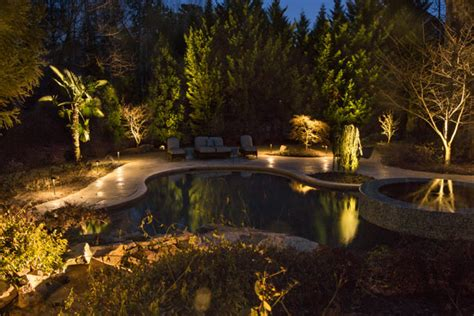 landscape lighting atlanta atlanta landscape lighting nightvision