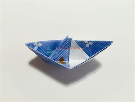 origami san boat chopstick holder origami boat in 13 easy steps