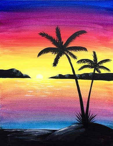 paint nite island pictures barwest 07 15 2015 paint nite event