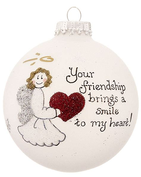 friendship ornaments friendship ornament his and hers
