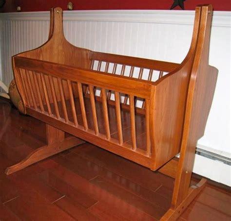 cradle plans woodworking baby cradle finewoodworking