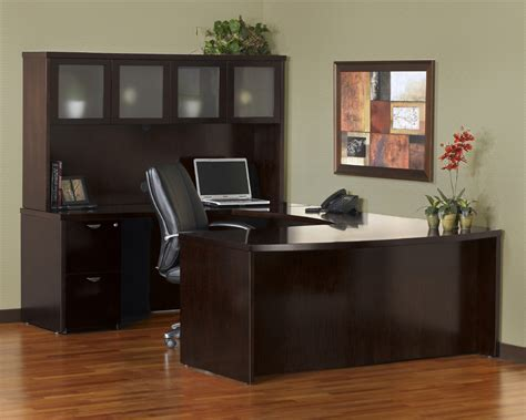 office u shaped desk mayline meu1 mira u shaped desk with 2 and 3 drawer