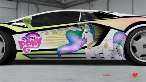 cool my ponies with cool cars my pony friendship is magic