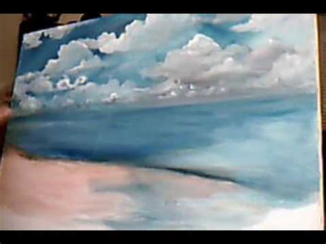 bob ross painting tutorial acrylic clouds 9 min 41 sec
