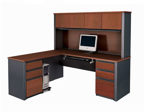 office desk with hutch l shaped bestar furniture for your home and office bestar 2go