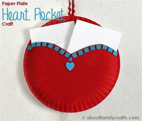 crafts to do with paper plates paper plate pocket about family crafts