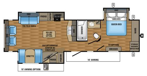 travel trailers floor plans trailer floor plans 2016 flight bungalow travel