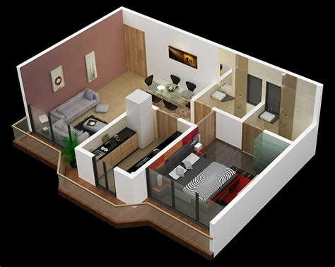 one bedroom designs 25 one bedroom house apartment plans