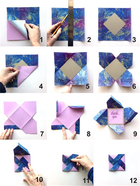 how to make folding cards origami on origami boxes origami paper and