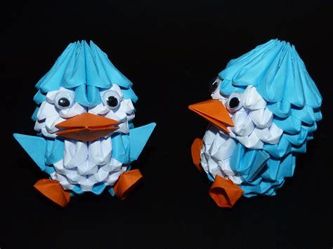 3d origami penguin 3d origami penguin by serahkyu77 on deviantart
