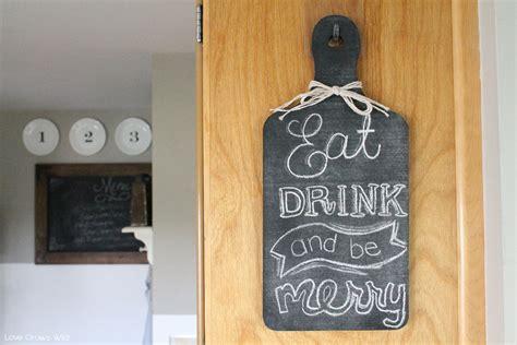 diy chalkboard for kitchen easy diy kitchen chalkboard grows