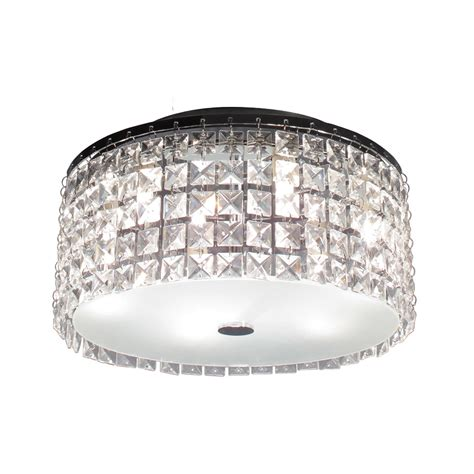 lowes flush mount ceiling light bazz lighting pl3413cc glam cobalt flush mount ceiling