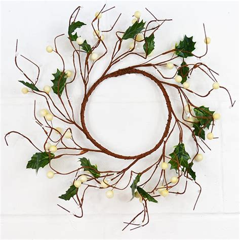 white wreaths berry wreaths or white the essentials company