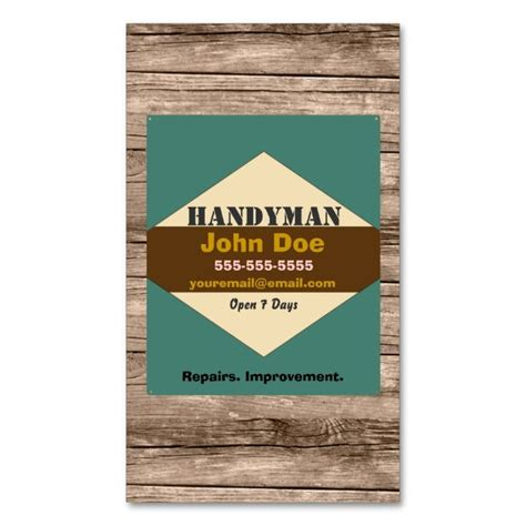 i want to make my own business cards 1978 best images about handyman business cards on
