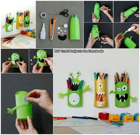 pencil holder craft ideas for pencil holder recycled shoo bottle