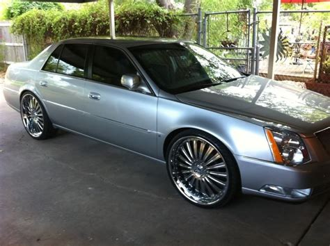 Cadillac On Rims by Cadillac Dts Rims Re 24 Inch Rims On 2008 Dts Jlw Car
