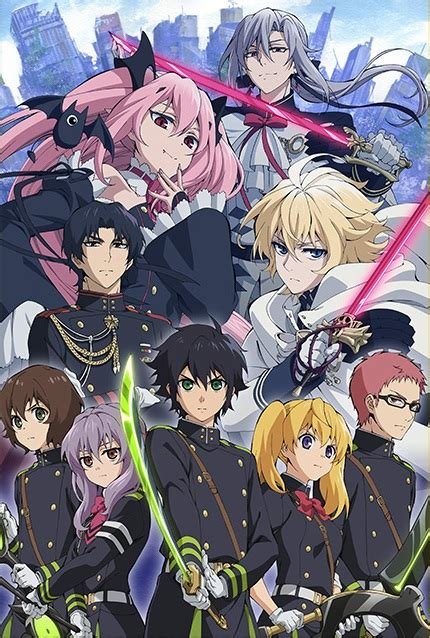 seraph of the end seraph of the end bloody blades owari no seraph wiki