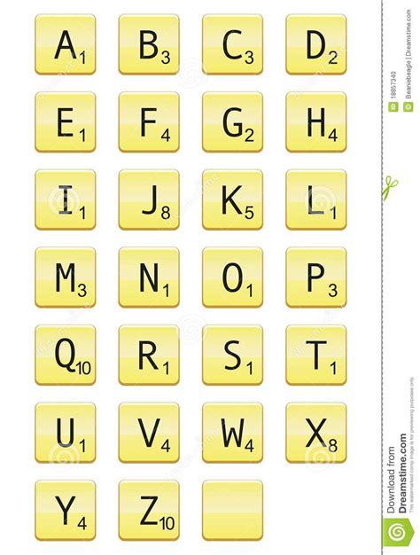 scrabble word de lettres de scrabble photo stock image 18857340