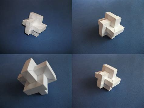 Origami Twisted Cube By Sheggie91 On Deviantart