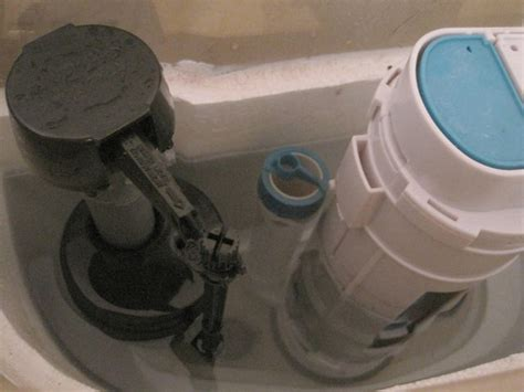 Toilet Tank Questions by Why Does This Toilet Fill Valve Leak Around The Top