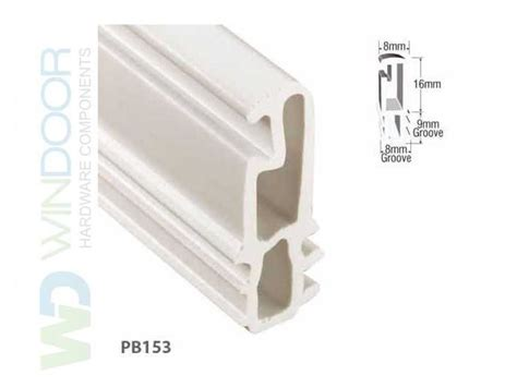 sash parting bead sliding sash window direct fit upvc parting bead for
