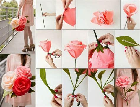 craft work for at home comment cr 233 er une fleur en papier cr 233 pon archzine fr