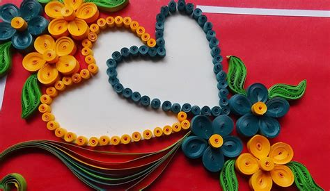 how to make paper quilling greeting cards paper how to make beautiful flower with design