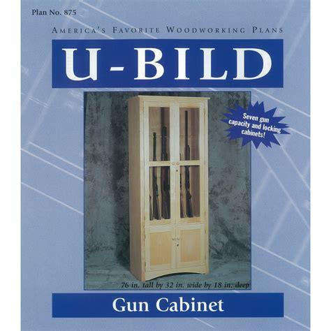woodworking plans gun cabinet shop u bild gun cabinet woodworking plan at lowes