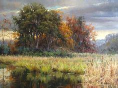 bob ross painting marshlands mediterranean sea landscapes paintings 005