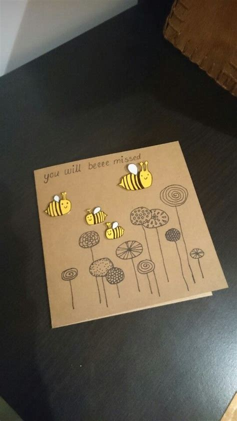 how to make a farewell card the 25 best farewell card ideas on goodbye