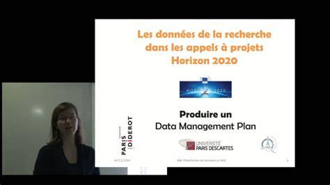 etablir un plan de gestion des donn 233 es dans le cadre d un projet europ 233 en magalie moysan