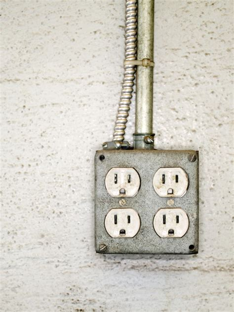 electrical outlet s how to install an exterior electrical outlet hgtv