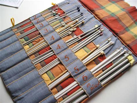 trousse porte aiguilles 224 tricoter l int 233 rieur couture porte aiguilles tricoter