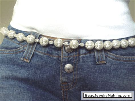 how to make a beaded belt beaded belt bead jewelry
