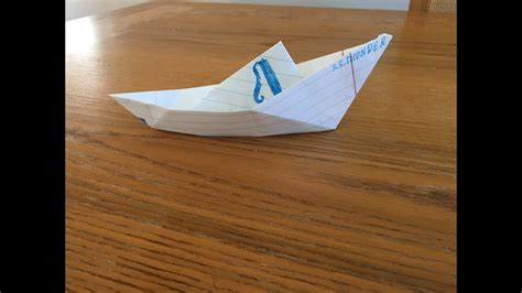 origami speed boat origami fishing speed boat