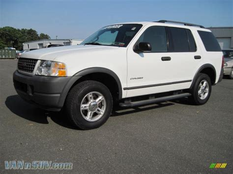 2004 Ford Explorer by 2004 Ford Explorer Xls 4x4 In Oxford White A87266