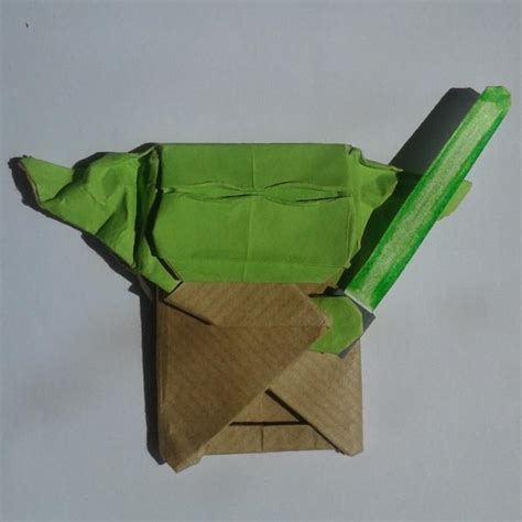 how to fold the cover origami yoda cover yoda origami yoda
