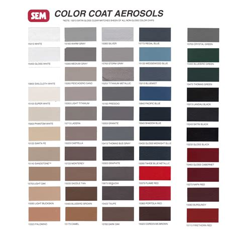 colors that match grey colorcoat color card