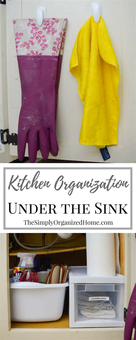 organizing the kitchen sink kitchen organization organizing the kitchen sink