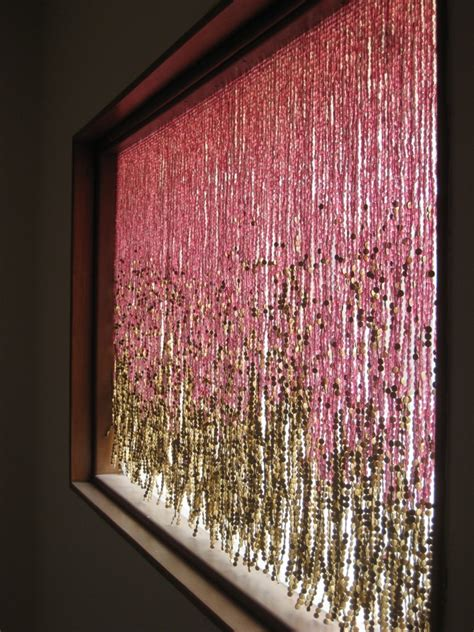 beaded curtains for pomegranate gold beaded curtain memories of a butterfly