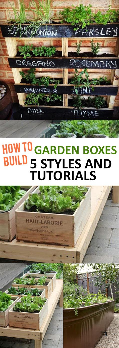 diy vegetable garden boxes 25 best ideas about box garden on raised beds
