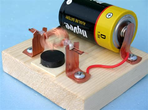 An Electric Motor by How To Build An Electric Motor