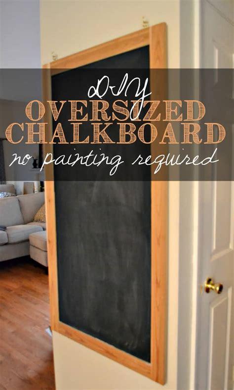 diy chalkboard large diy oversized chalkboard 20