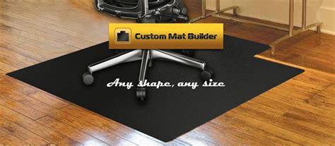 computer desk floor mats custom chair mats