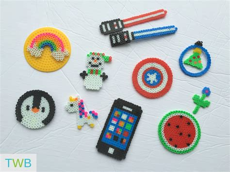 fuse bead creations 5 and creative perler bead crafts the write balance